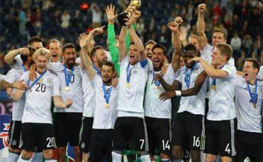 ประวัติฟุตบอลทีมชาติเยอรมันตั้งแต่อดีตจนถึงปัจจุบัน